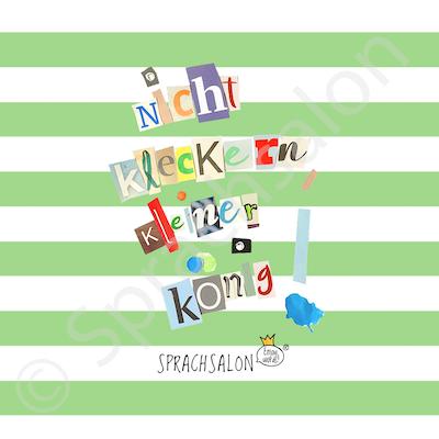 Kleckerkoenig_leckergruen_Blockstreifen