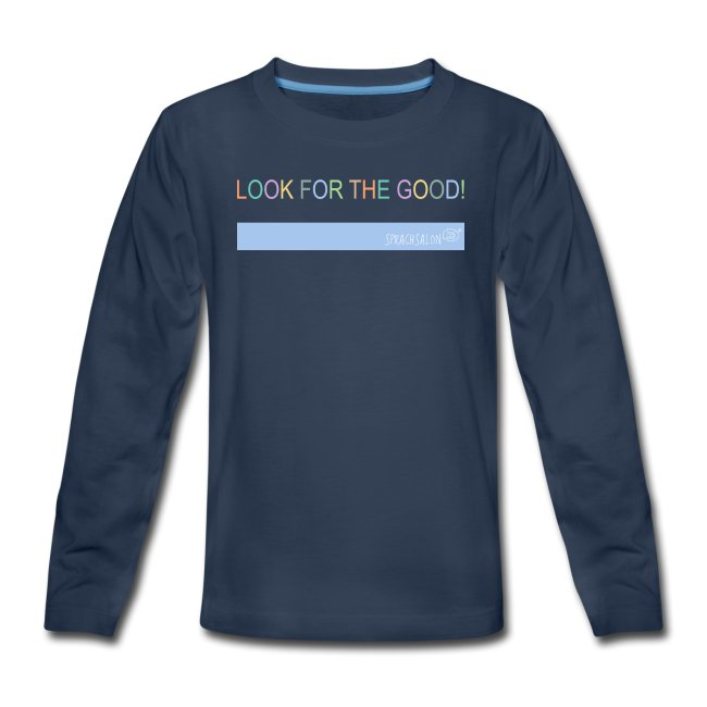 look-for-the-good-hellblau